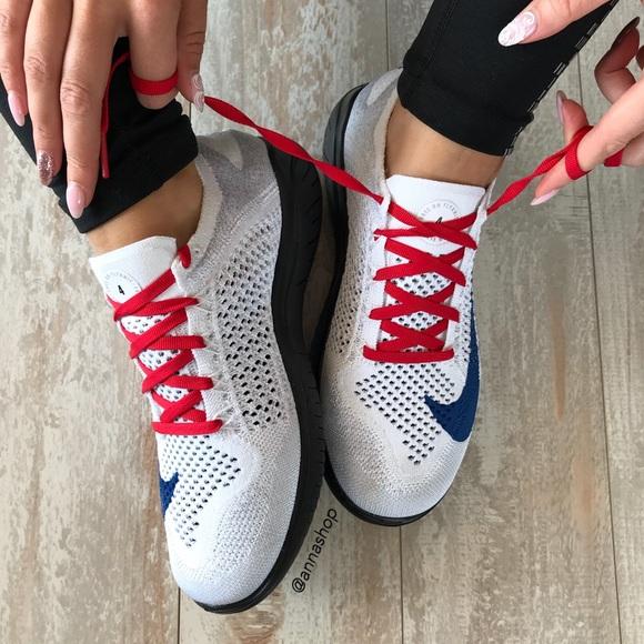 76a5cd8693a20 NWT Nike ID Free Rn Flyknit 2018 Custom